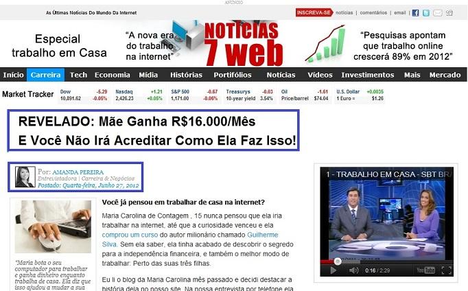 Curso Internet Dinheiro Do Guilherme Silva É Fraude? Golpe? Funciona?