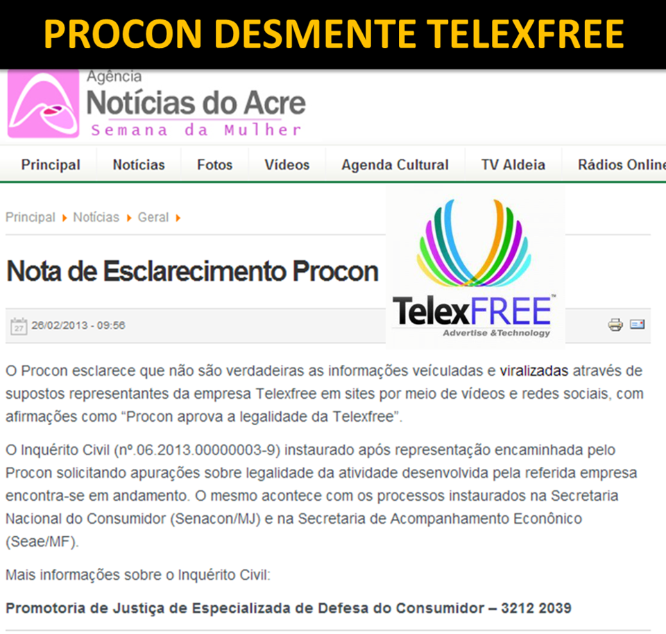 TelexFree é fraude? Funciona? É sustentável? Bom negócio?