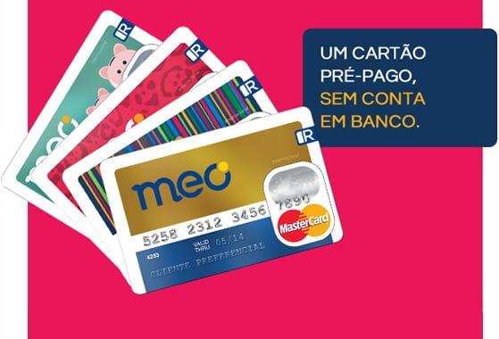 Meo Cartão: Cartão de crédito pré-pago internacional